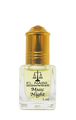 El Nabil Orientalisches parfümarabisches parfümöl el nabil musc night 5 ml alkoholfrei