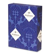 Strathmore 300220 Cotton Gesch-ft Wove Paper White 90 Helligkeit 24 - Brief 500 Blatt