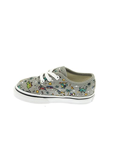 Vans Authentic Schuh Dino-Party-Grau Dino Party