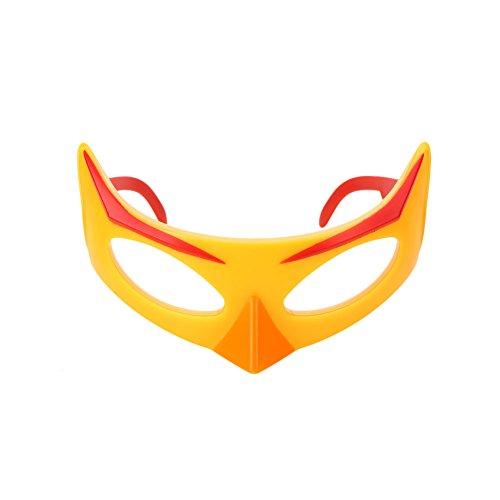 (Bolange Halloween Maske Augenmaske Horror Kunststoff Fledermaus Vogel Serie Bühne Cosplay Halloween Kostüm - Bombe Black Bird)
