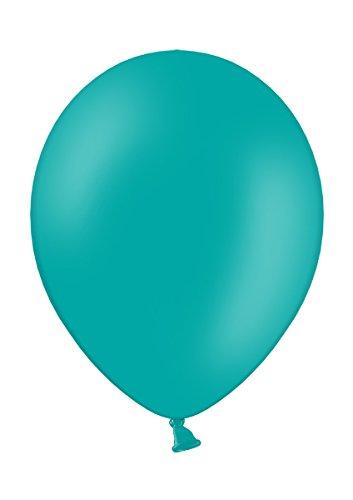 50 Premium Luftballons in Türkis / Petrol - Made in EU - 100{91358563980aad1394ea5b829604a9a8412bfffa3a8e8144d5b80ca6f9621071} Naturlatex somit 100{91358563980aad1394ea5b829604a9a8412bfffa3a8e8144d5b80ca6f9621071} giftfrei und 100{91358563980aad1394ea5b829604a9a8412bfffa3a8e8144d5b80ca6f9621071} biologisch abbaubar - Geburtstag Party Hochzeit Silvester Karneval - für Helium geeignet - twist4®