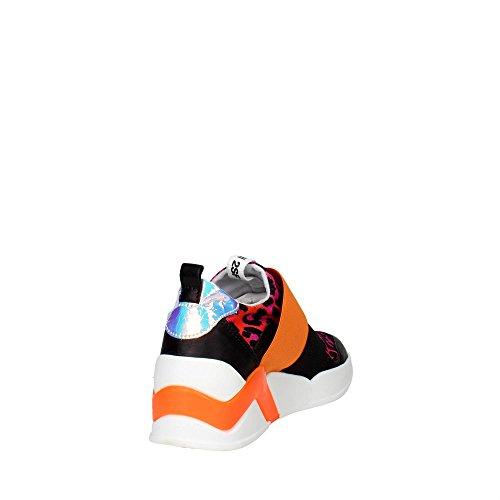 Serafini PE16DOV06 Sneakers Damen Schwarz/Fuchsia