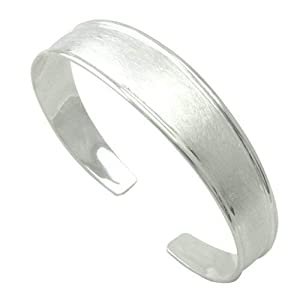 Armspange hochwertige Goldschmiedearbeit aus Deutschland (Sterling Silber 925 anlaufgeschützt) flexibler Armreif, Arm Spange, Damen Armreif Armspange Armband