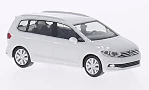VW Touran II, weiss, 2015, Modellauto, Fertigmodell, Herpa