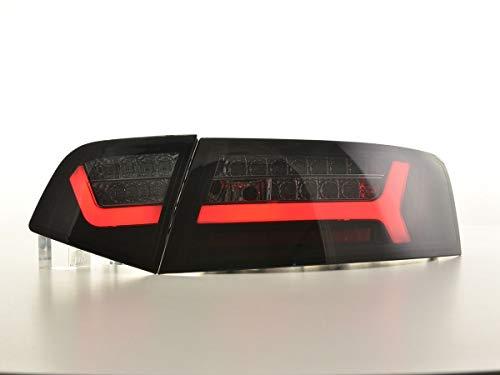 Feux arrière LED pour Audi A6 4F berline année de Construction 08-11 Noir