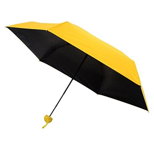 Providethebest Cápsula mini bolsillo paraguas prueba