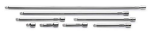 SK 45398Stück 3/8Zoll Antrieb 1-1/2Zoll, 3Zoll, 4-Zoll, 15,2cm, 20,3cm, 25,4cm, 18und 24Schwenkbare Verlängerung Set (Sk-tools Set 3 8 Antrieb)