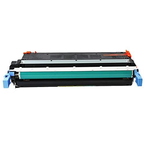 JEFF-CHY Kompatibel mit der HP C9720A Tonerkartusche HP C9721A 4600 4610 4650DTN 641A Druckkassette,Black -