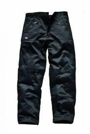 Dickies-Pantaloni azione-nero-gamba corta (73,7cm)-96,5cm vita