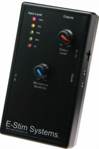 Elektro Sex Power box - E-Stim A-box Audio Stimulator Reizstromgerät
