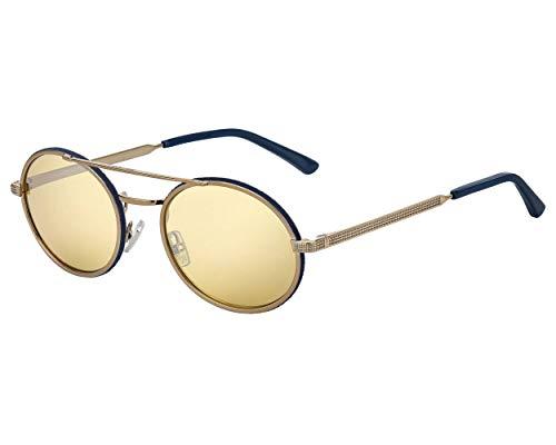 Jimmy Choo Sonnenbrillen (JEFF-S S3HT4) messing - blau dunkel - braunfarben - verspiegelt