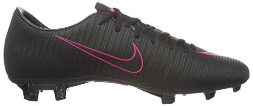 Nike Mercurial Victory Vi Fg, Scarpe da Calcio Uomo Nero (Schwarz/Schwarz/Pink)