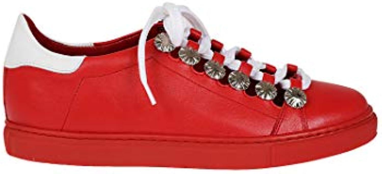 online store 91602 0c785 Toga Pulla scarpe da da da ginnastica Donna AJ790rosso Pelle Rosso   di  moda   Maschio/Ragazze Scarpa 2dece4
