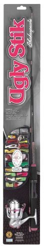 Shakespeare Ugly Stik Lady Spinning Rod and Reel Combo Kit (5-Feet) by Shakespeare
