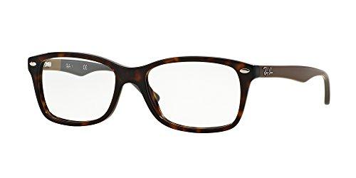 Ray-Ban Damen Brillengestell 0rx 5228 5545 53, Braun (Havana)
