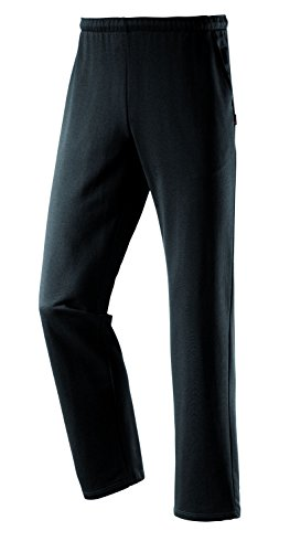 Michaelax-Fashion-Trade -  Pantaloni sportivi  - relaxed - Basic - Uomo Black - Schwarz (999)