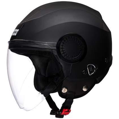Studds Urban Half Helmet (Black, L)