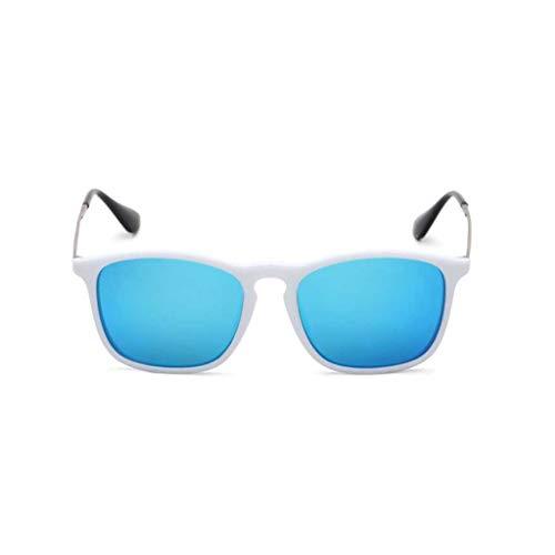 Polarisierte Sonnenbrille Männliche Hipster Drive Sonnenbrille Männer The Vintage Driver Spiegel Square Drive Brille Weiblich (Farbe: A)