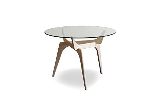 Tavoli Di Vetro Rotondi : Pib tavoli da pranzo tavolo rotondo in vetro parkano le linee