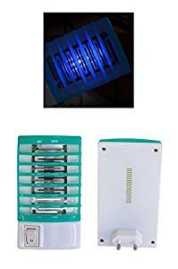 HUKITECH lámpara antiinsectos Conector Mosquitera Conector matainsectos con función de luz Nocturna–32cm Insectos Protección contra Mosquitos y Otros Insectos de Vuelo