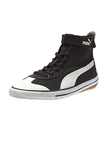 Puma Men's 917 Mid DP Puma Black and Puma White Sneakers - 7 UK/India (40.5 EU)  available at amazon for Rs.2118