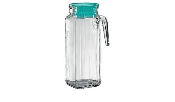 Kühlschrankkrug : Borgonovo 1 liter iglu quadra glas krug kühlschrank krug : amazon