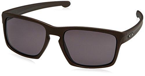 Oakley Herren Sliver Sonnenbrille, Schwarz (Corten), 57