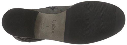 Gabor Gabor Fashion, Stivali classici imbottiti a gamba corta donna Grigio (Grau (anthrazit (Micro) 30))