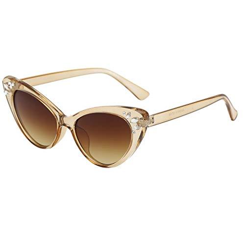 kolila Damen Eyewear Brillen Sonnenbrillen Verkauf Ausverkauf Vintage Retro Style Mode Strahlung Augenschutz ()