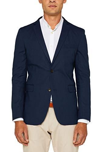 ESPRIT Herren 049Ee2G003 Blazer, Blau (Navy 400), Herstellergröße: 48
