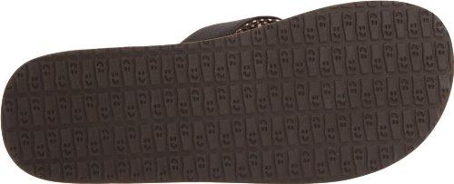 Sanuk Yoga Mat 29418063, Tongs Femme Marron (braun (brun))