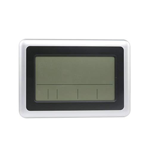 Fornateu LCD Digital de Pared Grande del termómetro del Reloj del Calendario de Escritorio Medidor...
