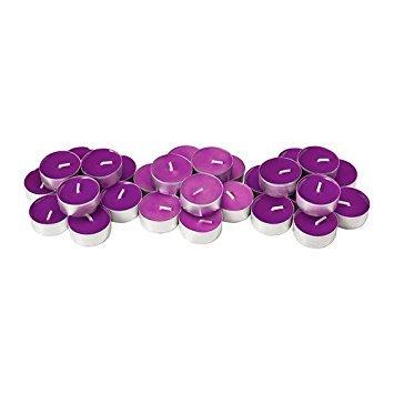 IKEA SINNLIG-perfumado velas, Full Blossom, velas rosa 30unidades