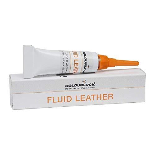 COLOURLOCK Flüssigleder, zum Füllen von Kratzern und Reparieren kleiner Löcher, Risse, tiefere Kratzer und Sprünge auf Autositzen, Möbeln und andere Artikeln aus Leder, 7 ml -