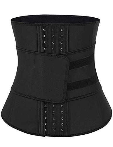 FeelinGirl Damen Waist Cincher Hot Sweat Neopren Taille Trainer Korsett Trimmer Gürtel Body Shaper Abnehmen