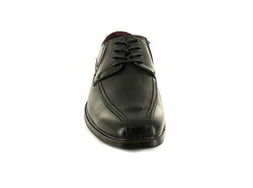 New Mens/Gents Black Synthetic Leather Upper Lace Ups Formal Shoes. – Black – UK Size 13