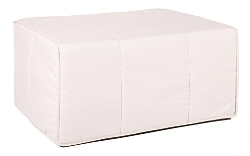 Quality Mobles - Cama Plegable individual de 80x180 cm funda color natural