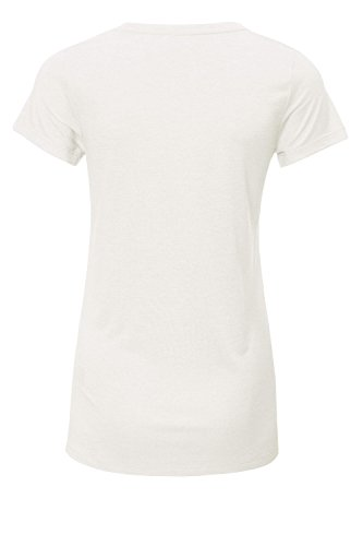 Object Damen T-Shirt Kurzarm Basic Shirt Gardenia