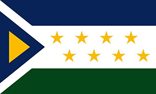magFlags Flagge: Large Grecia Costa Rica | Cantón Acosta en la Provincia Alajuela | Querformat Fahne | 1.35m² | 90x150cm » Fahne 100% Made in Germany -