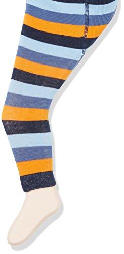 Sterntaler Baby-Jungen Legging Leggins Ringel, Blau (Nachtblau 366), 74