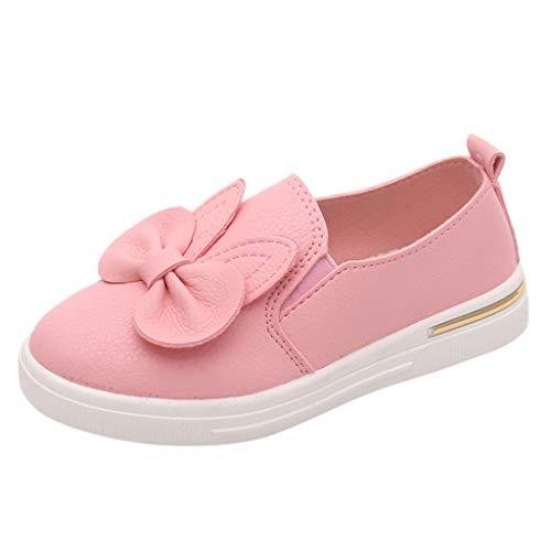 Elsta Kinder Canvas Sneakers Mädchen Tanzschuhe Bowknot Segeltuchschuhe Mary Jane Schul Schuhe Kinder Mädchen Blumen süße Prinzessin Schuhe einzelne Schuhe Sandalen -
