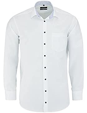 SEIDENSTICKER Comfort Hemd extra langer Arm Popeline weiß AL 69