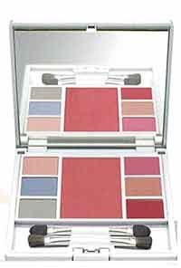 Sante Beauty Set No. 01 enthält Eyeshadow, Lipgloss, Rouge sowie tolle Schminktipps