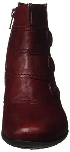 Gabor Damen Casual Stiefel Rot (Dark-Red)