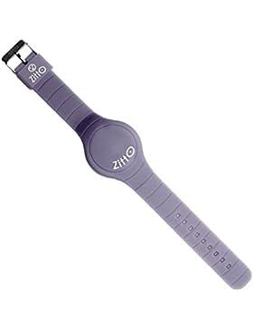 Zitto! Herren Uhr aus Silikonem Kollektion Basic cod. SILVERGREY-G