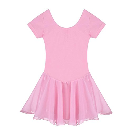 arshiner-girls-dance-leotard-ruffle-sleeve-pink-150age-for-9-10y-
