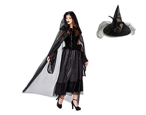 Passen Halloween Hexen Hut Vampir Ghost Braut