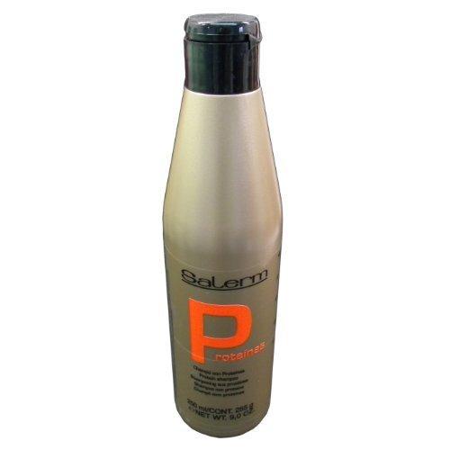 Salerm Protein Shampoo, 9 oz (250ml) by Salerm Cosmetica Professional, Inc.