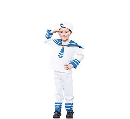 Fyasa 706158-t00Sailor Fancy Dress Kostüm, (Fancy Sailor Kostüm)