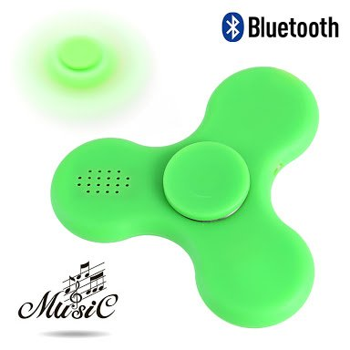 Sajni Creations Rechargeable Bluetooth Fidget Spinner Speaker LED Light Music Hand Spinner with USB Cable Stress Relief Toy...
